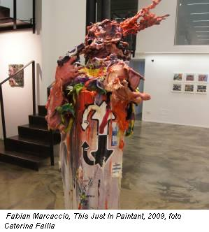 Fabian Marcaccio, This Just In Paintant, 2009, foto Caterina Failla