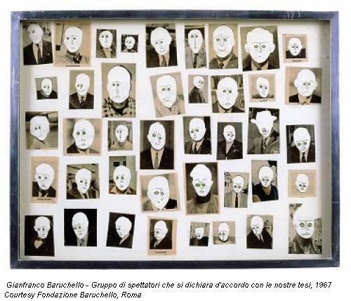 L 39 immagine mutante di gianfranco baruchello dagli anni for Gianfranco baruchello