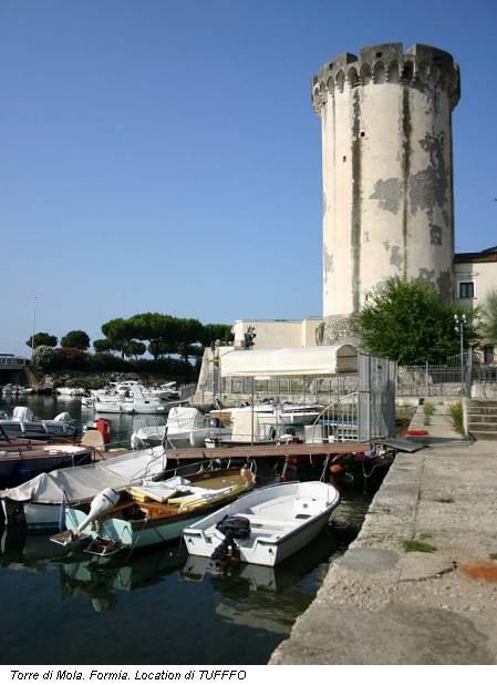 Torre di Mola. Formia. Location di TUFFFO