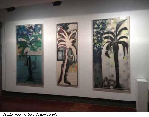 Veduta della mostra a Castiglioncello