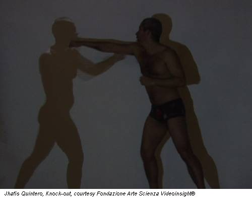 Jhafis Quintero, Knock-out, courtesy Fondazione Arte Scienza Videoinsight®