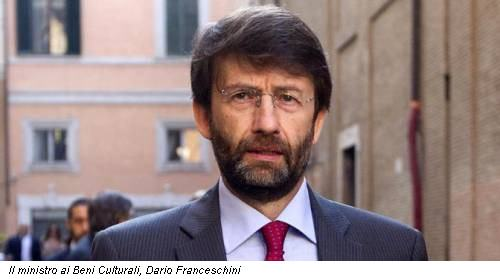 Il ministro ai Beni Culturali, Dario Franceschini