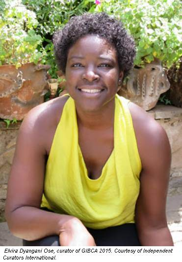 Elvira Dyangani Ose, curator of GIBCA 2015. Courtesy of Independent Curators International.