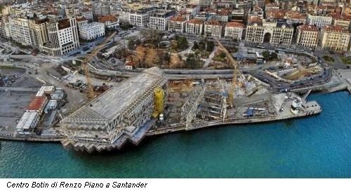 Centro Botin di Renzo Piano a Santander