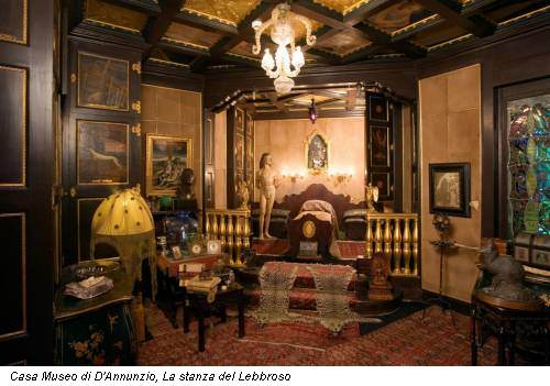 Case ad arte la casa museo di gabriele d annunzio a for Bagno d annunzio