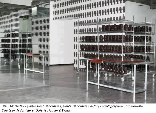 Paul McCarthy - (Peter Paul Chocolates) Santa Chocolate Factory - Photographe - Tom Powell - Courtesy de l'artiste et Galerie Hauser & Wirth