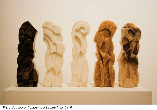 Piero Consagra, Fantasma a Lampedusa, 1990