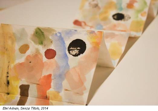 Etel Adnan, Senza Titolo, 2014