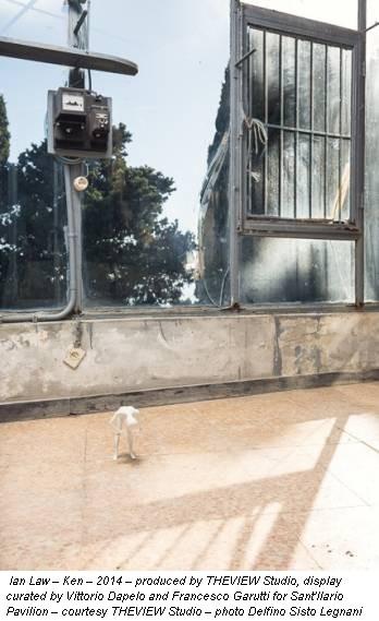 Ian Law – Ken – 2014 – produced by THEVIEW Studio, display curated by Vittorio Dapelo and Francesco Garutti for Sant'Ilario Pavilion – courtesy THEVIEW Studio – photo Delfino Sisto Legnani