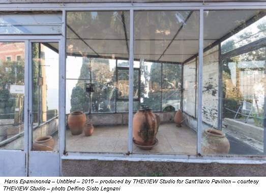 Haris Epaminonda – Untitled – 2015 – produced by THEVIEW Studio for Sant'Ilario Pavilion – courtesy THEVIEW Studio – photo Delfino Sisto Legnani