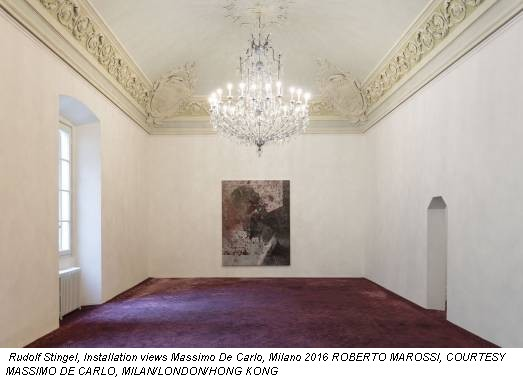 Rudolf Stingel, Installation views Massimo De Carlo, Milano 2016 ROBERTO MAROSSI, COURTESY MASSIMO DE CARLO, MILAN/LONDON/HONG KONG