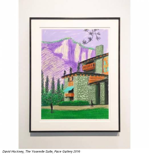 David Hockney, The Yosemite Suite, Pace Gallery 2016