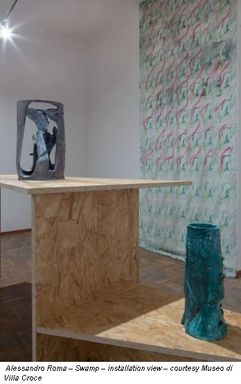 Alessandro Roma – Swamp – installation view – courtesy Museo di Villa Croce