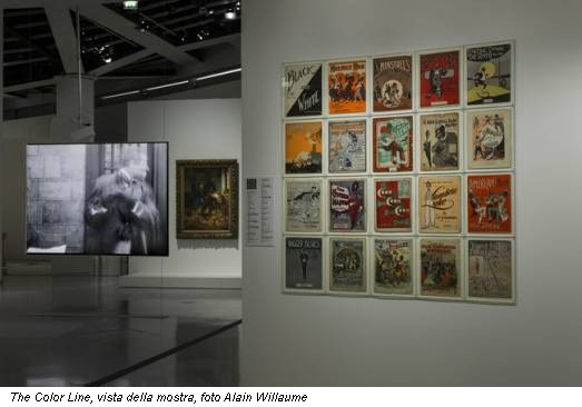The Color Line, vista della mostra, foto Alain Willaume