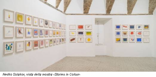 Nedko Solakov, vista della mostra -Stories in Colour-