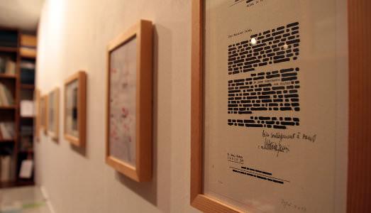 Fino al 10.I.2015 Edizioni l'Obliquo, Libri e grafica. Trent'anni di edizioni Galerie Bordas, Venezia