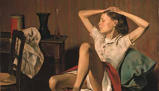 Balthus, che indecenza