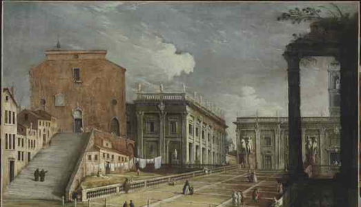 Canaletto torna a Roma