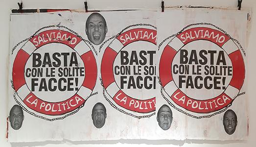 Fino al 15.I.2019 Pino Boresta. M.E.R.D.A.,  Bianco Contemporaneo, Roma