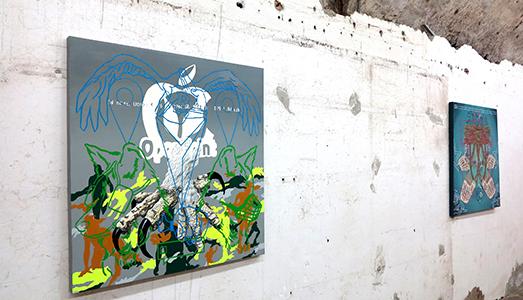 Fino al 27.VII.2017 Roberto Amoroso, Behind the curtain Dino Morra Arte Contemporanea, Napoli