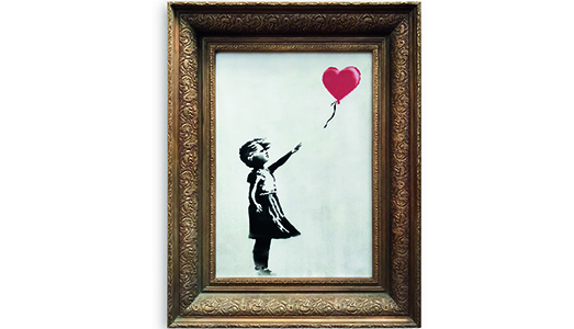 I test di Phillips in Asia con Banksy