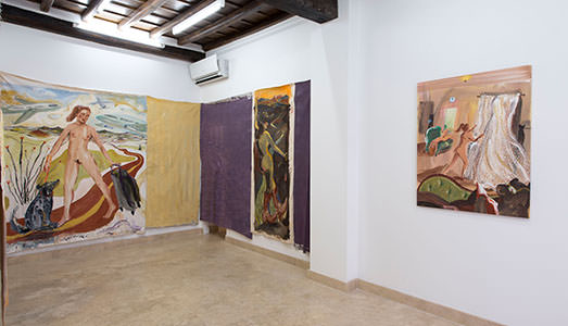 Katarina Janeckova Galleria Richter Fine Art, Roma