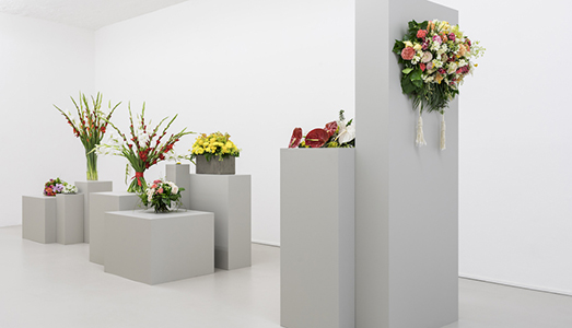 Finissage - Flowers are Documents – Arrangement I and II - ar/ge kunst, Bolzano