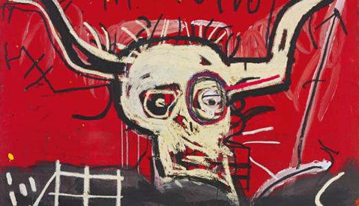Il Basquiat di Yoko Ono in vendita