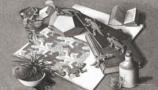 Di nuovo nel mondo capovolto di Escher