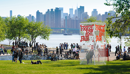 Chi vende a Frieze New York