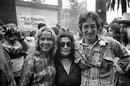 Jeanne Moreau Yoko Ono e John Lennon nel 1971