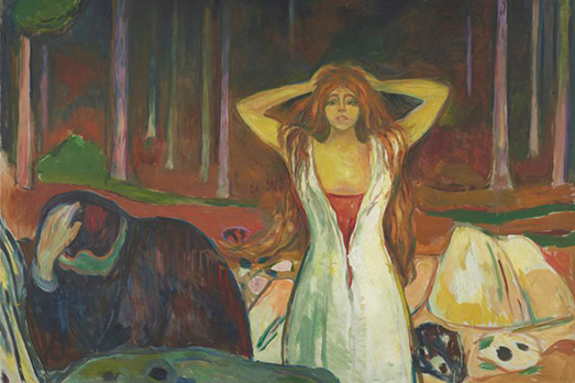Edvard Munch, Ashes (1925)