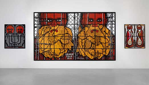 Fino al 3.II.2018 - Gilbert & George, The Beard Pictures - Galleria Alfonso Artiaco, Napoli
