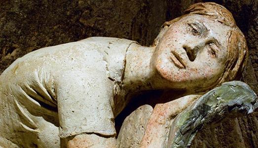 Fino al 06.XI.2016 Pietro Guida. Racconto di un popolo di statue Chiese rupestri Madonna delle Virtù e San Nicola dei Greci, Matera