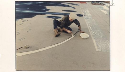 Fino al 28.IX.16 Luigi Ghirri, Spazio Siderale Il sipario del Teatro Valli dipinto da Omar Galliani Vicolo del Folletto Art Factories, Reggio Emilia