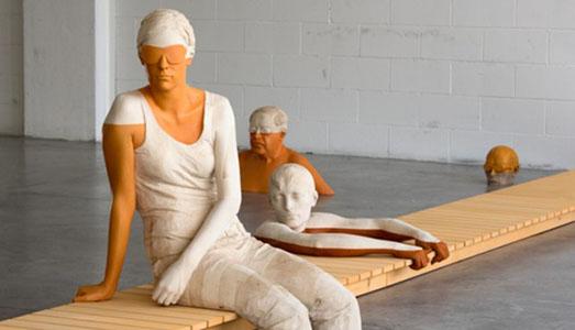 Fino al 17.IX.2017 Legno | Lën | Holz. Un itinerario nella scultura contemporanea Galleria Civica, Trento