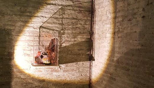 Fino al 17.X.2016 Anna Romanello, Attraversare il tempo Case romane del Celio, Roma