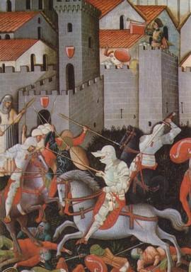 San Ginesio's Battle, Tavola XV Century