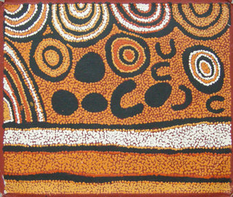 Arte aborigena australiana for Arte aborigena