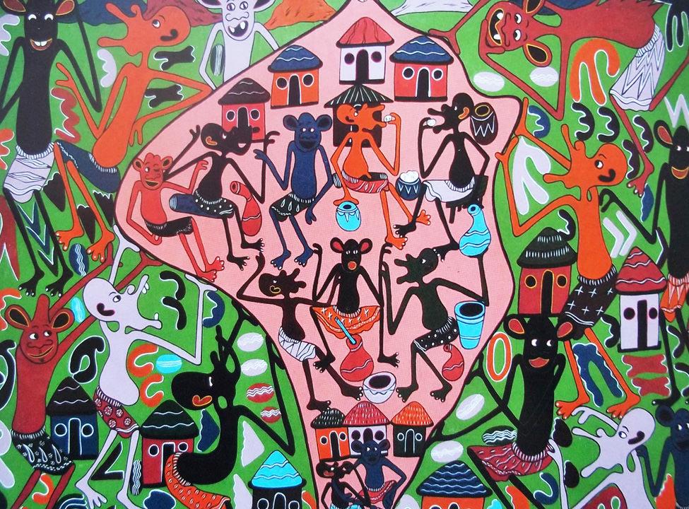 Arte contemporanea dall 39 africa appunti da una collezione for Magazine arte contemporanea