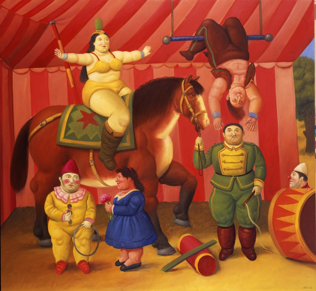 Fernando botero for El jardin de botero