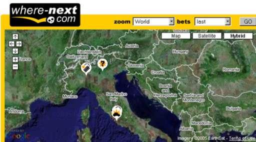 exiwebart_project | Dove sarà il prossimo?