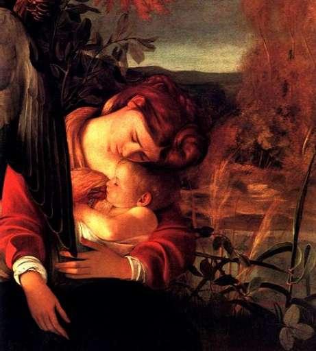 opera | Caravaggio – Il riposo durante la fuga in Egitto