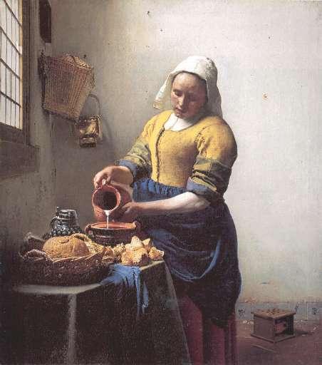 opera | Johannes Vermeer  – Lattaia
