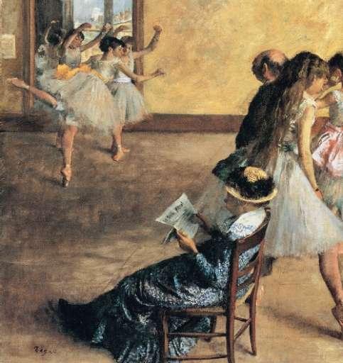 opera | Edgar Degas  – Lezione di danza