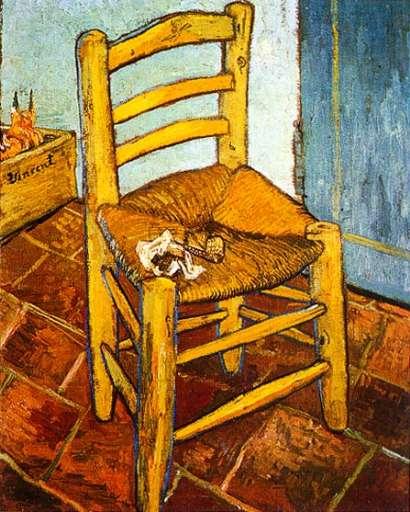 opera | Vincent Van Gogh – La sedia di Vincent