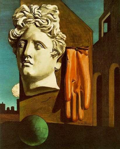 opera | Giorgio de Chirico – Canto d'amore