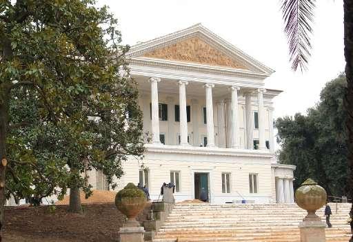 La Villa che diventerà Museo
