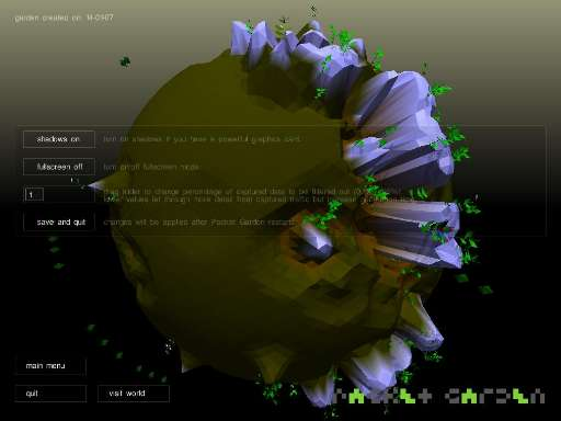 exiwebart_project | Packet Garden