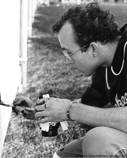 fino al 1.VII.2007 | Keith Haring: Il murale di Milwaukee | Monza (mi), Villa Reale